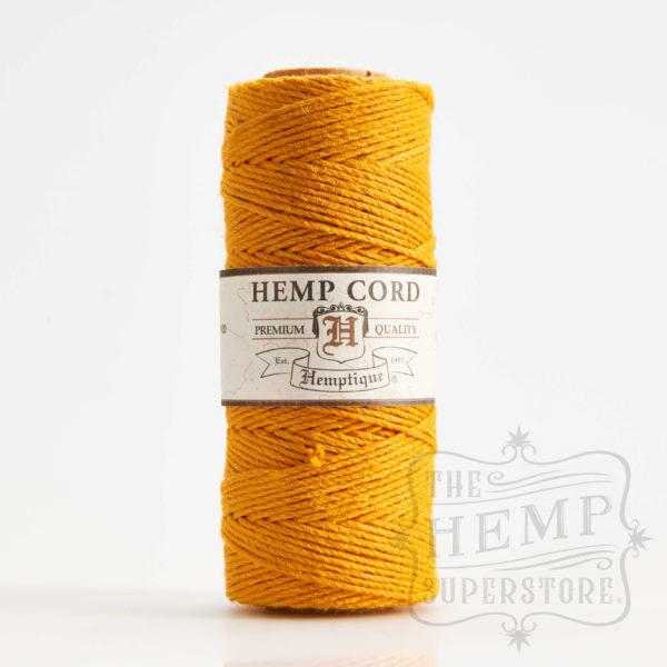 hemp cord spool gold