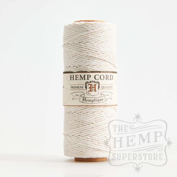 hemp cord spool white