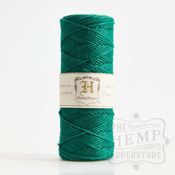 hemp cord spool green