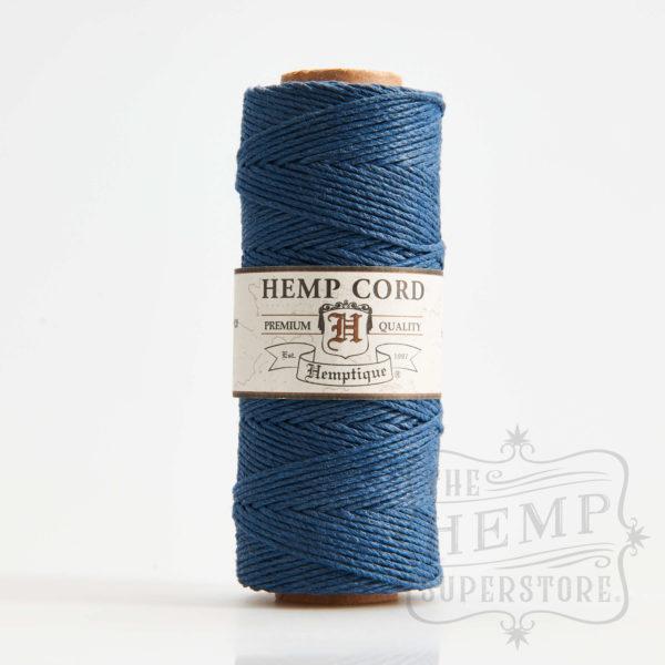 hemp cord spool aquamarine