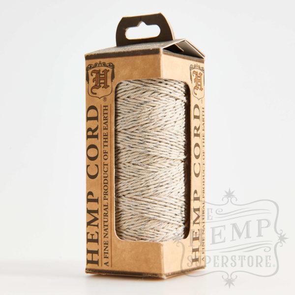 Hemp Cord Natural and Silver