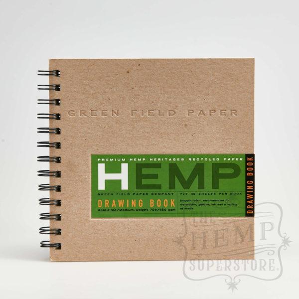 premium hemp drawing book