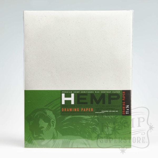 hemp drawing paper